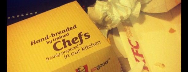 KFC is one of Summer in London/été à Londres.