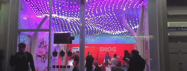 Snog Pure Frozen Yogurt is one of More London.