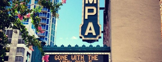 Tampa Theatre is one of Favorite Downtown Attactions.