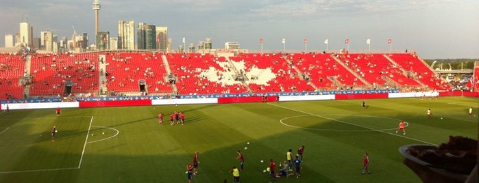 BMO Field is one of MLS Stadiums.