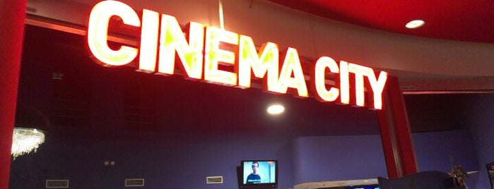 Cinema City is one of All-time favorites in Czech Republic.