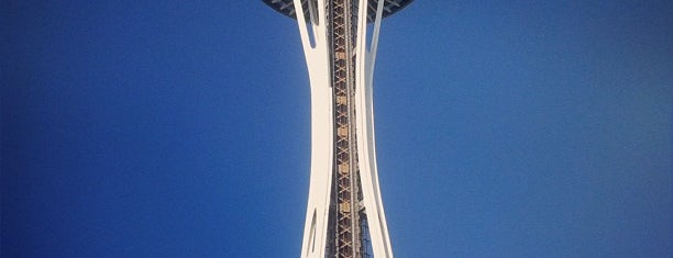 Space Needle is one of Scenic Route: US West Coast.