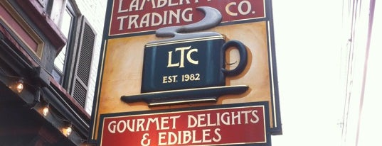 Lambertville Trading Company is one of Yum.