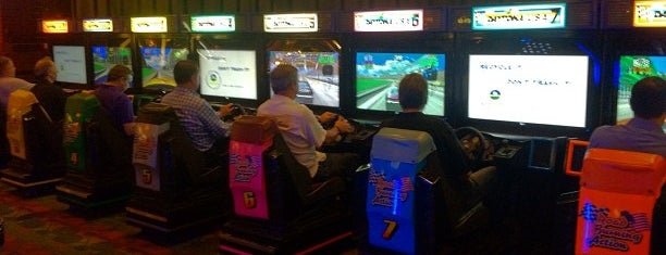 Dave & Buster's is one of 20 favorite restaurants.