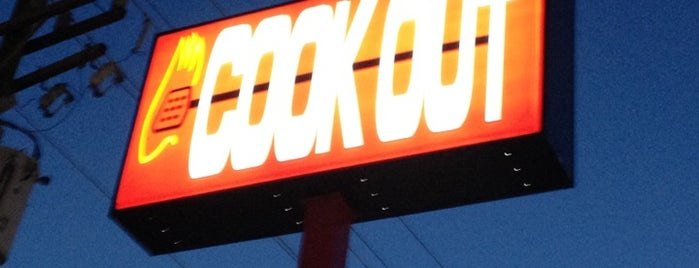 Cook-Out is one of Love this place!.