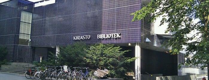 Pasilan kirjasto is one of HelMet-kirjaston palvelupisteet.