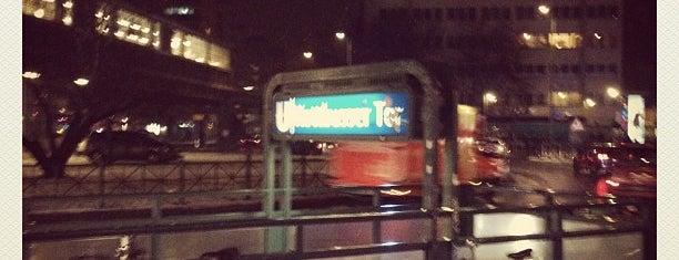 U Kottbusser Tor is one of I Love Berlin!.