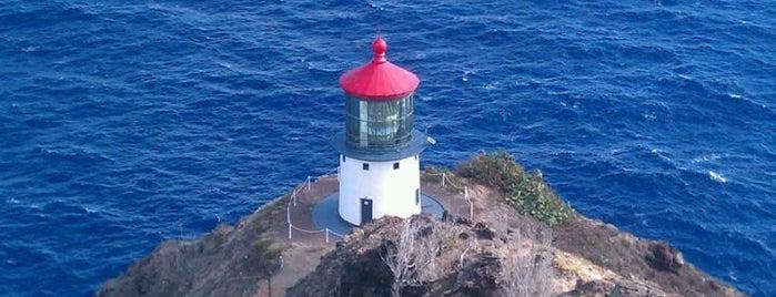 Makapu'u Lighthouse is one of Hawaiian Islands Top Picks.