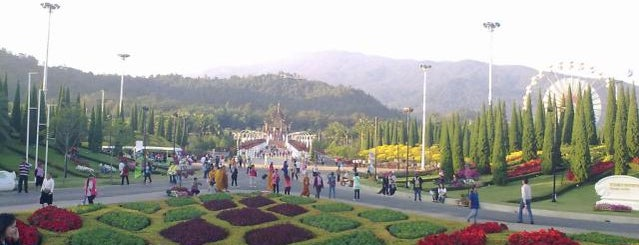 The International Horticultural Exposition Royal Flora Ratchaphruek 2011 is one of Guide to the best spots Chiang Mai|เที่ยวเชียงใหม่.