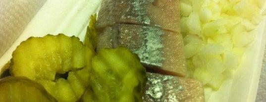 zwarthoed's zeevishandel is one of My favorites in Amsterdam.