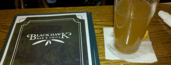 Blackhawk Bar & Grill is one of my favorite places.