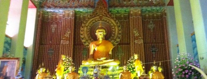 Wat Chana Songkhram is one of Visit: FindYourWayInBangkok.