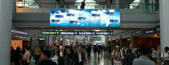 Incheon International Airport (ICN) is one of 10,000+ check-in venues in S.Korea.