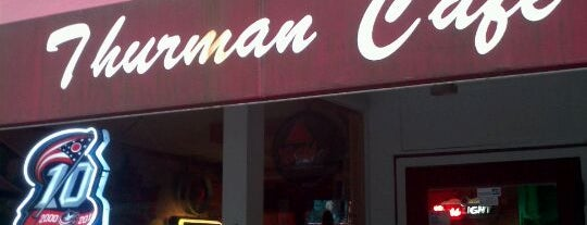The Thurman Cafe is one of Man v Food Nation.