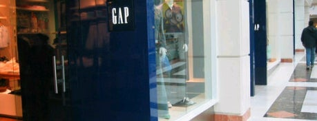 Gap is one of My Places.
