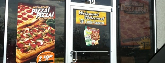 Little Caesars Pizza is one of Guide to Clinton Township's best spots.