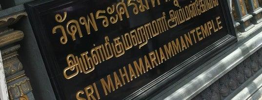 วัดพระศรีมหาอุมาเทวี (วัดแขก) Sri Mahamariamman Temple is one of Holy Places in Thailand that I've checked in!!.