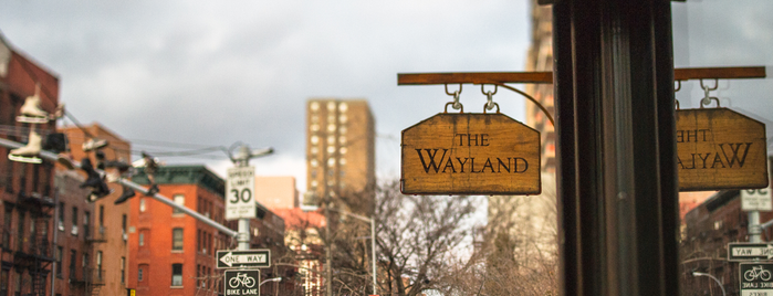 The Wayland is one of NYC dranks.