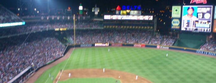 Turner Field is one of MLB Baseball Stadiums.