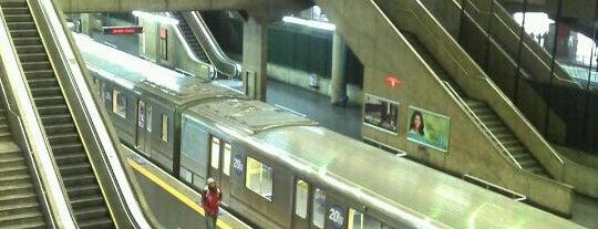 Estação Palmeiras-Barra Funda (Metrô) is one of Transporte.
