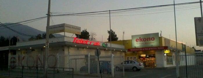 Ekono is one of Peñalolén.