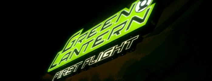 Green Lantern: First Flight is one of ROLLER COASTERS.