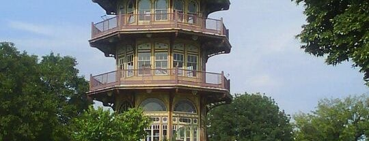 Patterson Park Pagoda is one of Baltimore City Badge - Charm City.