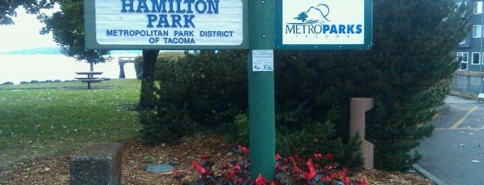 Hamilton Park is one of Dog walking in Tacoma.