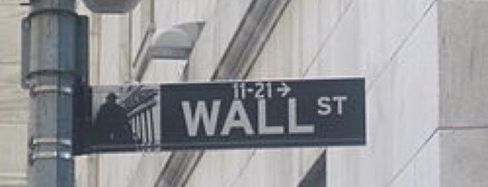 Wall Street is one of NY.