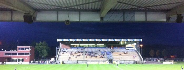 Leunenstadion is one of Jupiler Pro League and Belgacom League - 2013-2014.