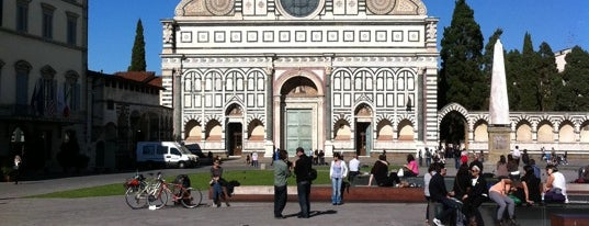Piazza Santa Maria Novella is one of Firenze (Florence).