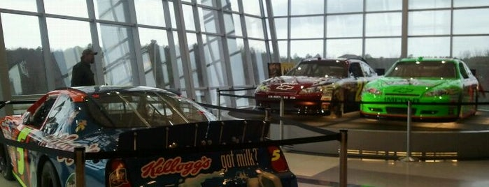 Hendrick Motorsports is one of Musts...Charlotte, NC.