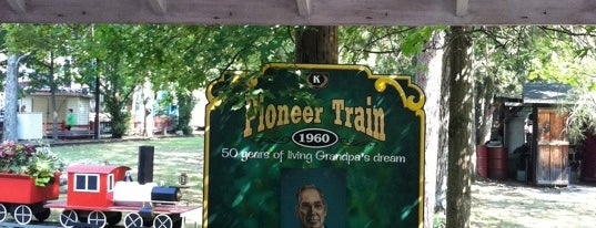 Pioneer Train is one of Favorite Arts & Entertainment.