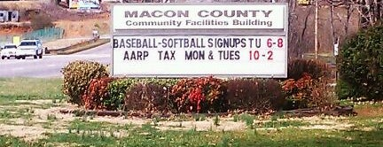 Macon County Rec Park And Community Building is one of Favorites.