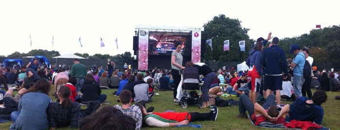 London 2012 Live Site - Victoria Park is one of 2 do list # 2.