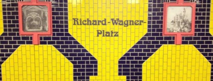U Richard-Wagner-Platz is one of U-Bahn Berlin.