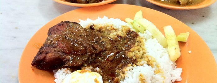 Nasi Ganja is one of fave dine.