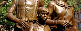 Irish Famine Memorial is one of IWalked Boston's Public Art (Self-guided Tour).