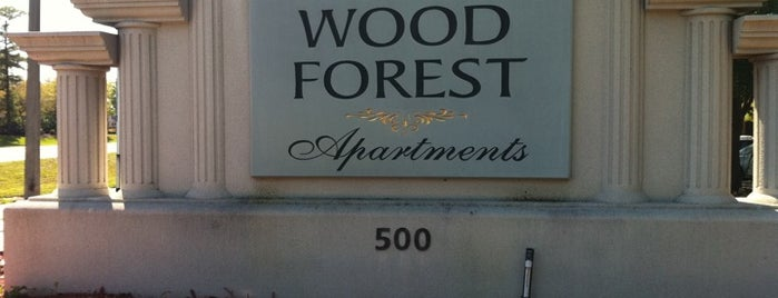 Wood Forest Apartments is one of apts.