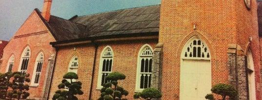 정동제일교회 (Chungdong First Methodist Church) is one of Korean Early Modern Architectural Heritage.