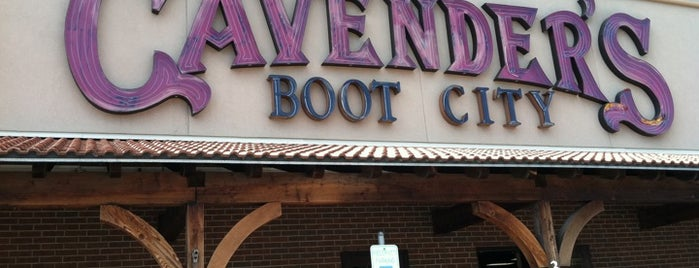 Cavender's Boot City is one of SARA! MICHELLE! TEXAS! All good things here...