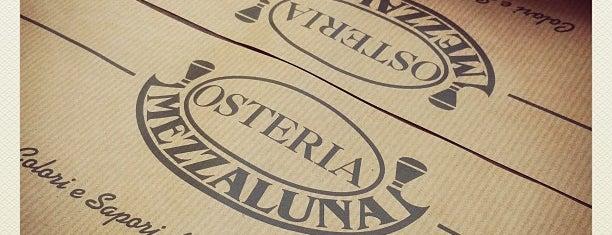 Osteria Mezzaluna is one of Best places to eat (@Savona).