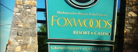 Foxwoods Resort Casino is one of ** my list **.
