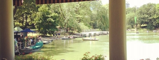 The Loeb Boathouse in Central Park is one of Drink Outside NYC.