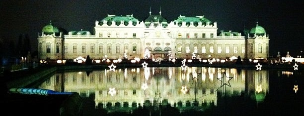 Belvedere is one of Vienna City Badge - Blue Danube.