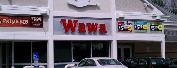 Wawa is one of Kent County Spots.