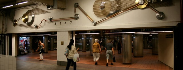 Grand Central Terminal is one of Subway Art in NYC.