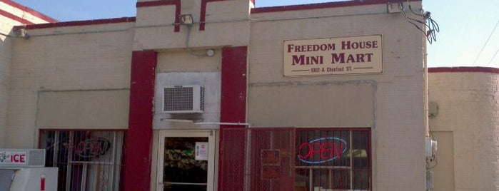 Freedom House Mini Mart is one of Gary's List.