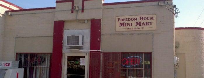 Freedom House Mini Mart is one of Gary's List.