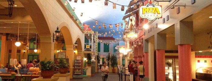 Market Street Food Court is one of Disney Adventure.
